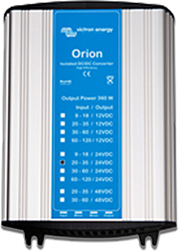 Orion DC-DC Converters Isolated, 360W and special purpose models
